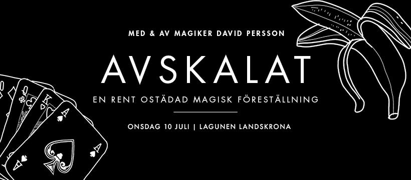 AVSKALAT -En rent ostädad magisk föreställning.